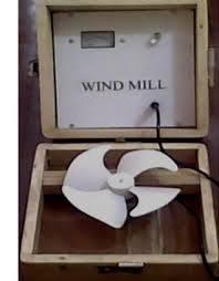 Model Of Wind Mill