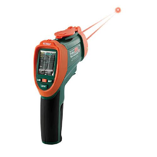 Digital Laser Video IR Thermometer