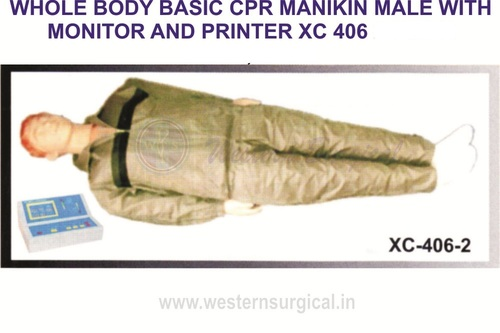 Whole Body Basic CPR Mankin (male)