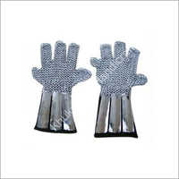 Chain Mail Gloves With Straps