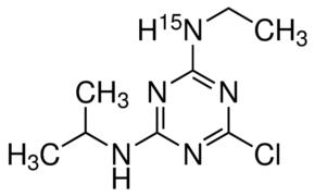 2-Chloro-4-ethylamino-15N-6-isopropylamino-1,3,5-triazine