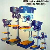 Simple & Geared Model Drilling Machine