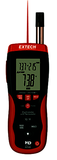 Digital Psychrometer Infrared Thermometer