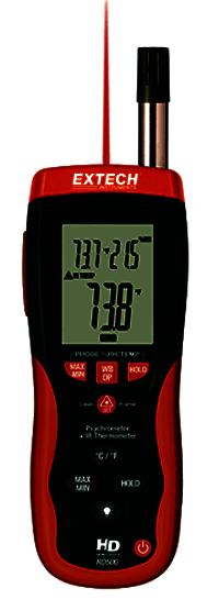 Digital Psychrometer Infrared Thermometer