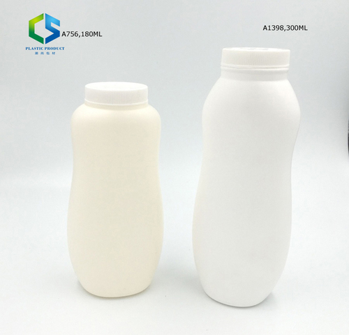 Plastic Empty Talcum Powder Bottle with Twist Lid