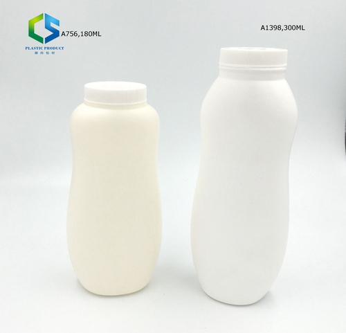 Plastic Empty Talcum Powder Bottle with Twist Lid