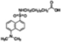 11-[5-(Dimethylamino)-1-naphthalenesulfonylamino]undecanoic acid