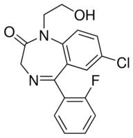 2-Hydroxyethylflurazepam solution