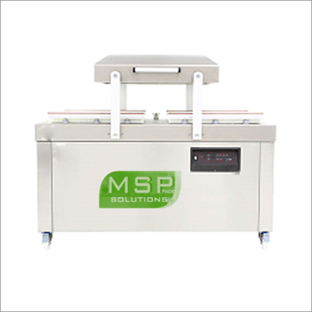 Double Chamber Vacuum Packing Machine.