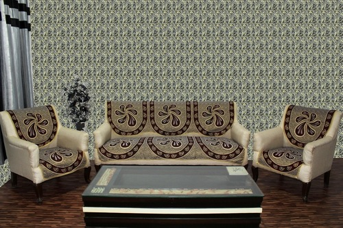 Chenille Sofa Panel Acrallic Chenille Beat