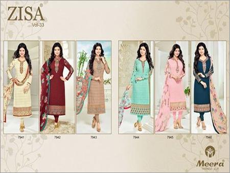 b4c96b660c MEERA TRENDZ (ZISA VOL-33) Straight Salwar Kameez Wholesale - HEENAZ  FASHIONS, 816/817/818, 8th Floor, Raghuvir Textile Mall, Bh D.R World, Aai  mata chowk, ...