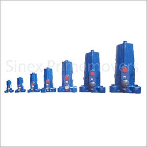 Pneumatic Vibrator Piston Impacting
