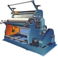 Motorised Model Combined Rotary Creaser Slotter