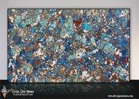 Blue Chrysocolla Slab