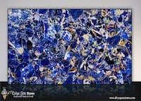 Blue Sodalite Stone Slab