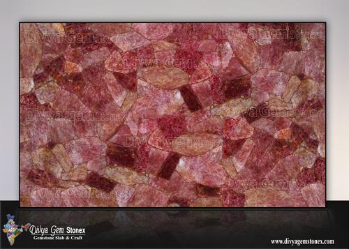 Cherry Quartz Slab