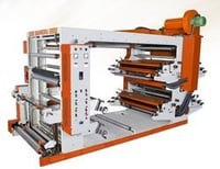 Three Color Flexo Paper Printing Machine