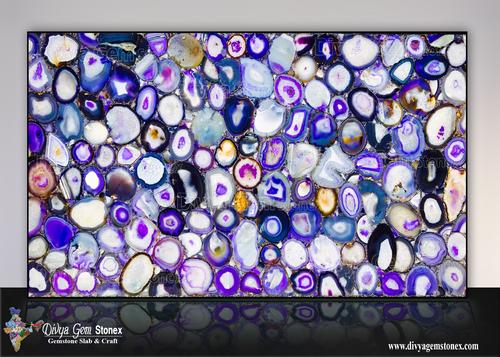 Brazilian Purple Agate Slabs