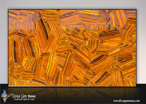 Tiger Eye Iron Slab