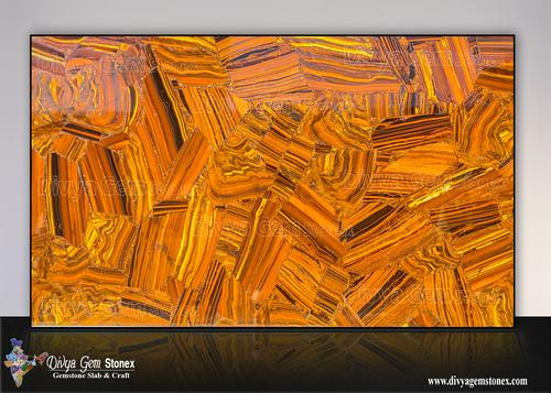 Tiger Eye Iron Slab