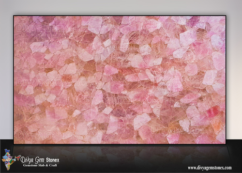 Rose Quartz Slabs