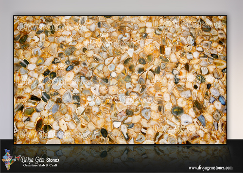 Golden Agate Slabs