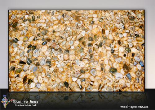 Golden Agate Stone Slab