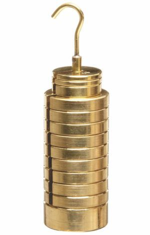 Slotted Weight Brass
