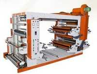 Four Color Flexo Paper Cum Board Printer