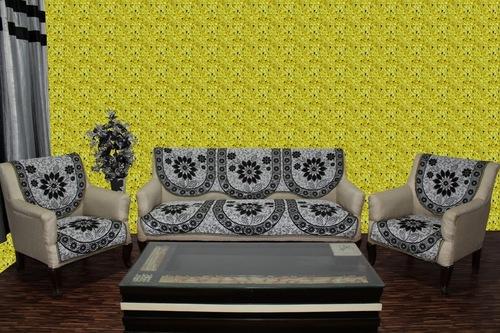 Chenille sofa panel acralic beat