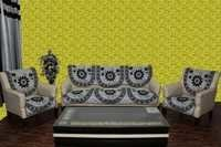 Chenille Sofa Panel Acralic Beat