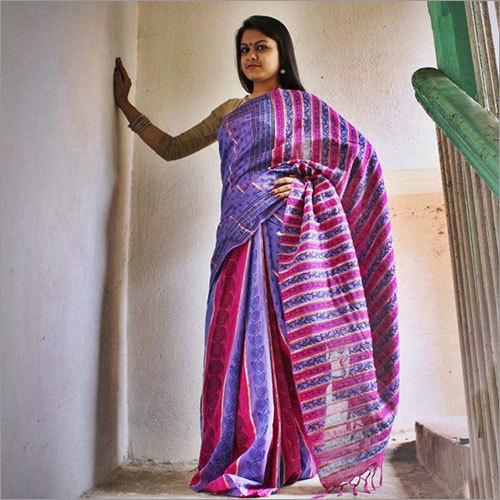Khesh Print Saree