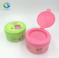 Plastic Empty Talcum Powder Box Powder Container with Holes and Lid