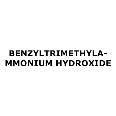 Benzyltrimethylammonium Hydroxide
