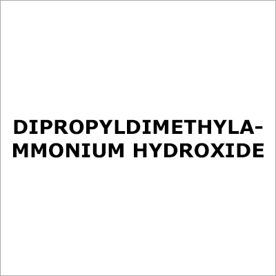 Dipropyl Diethyl Ammonium Hydroxide