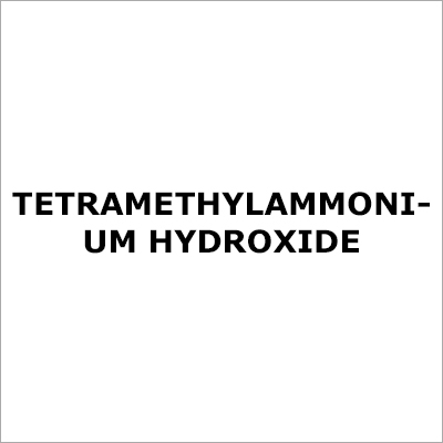 Tetramethylammonium Hydroxide