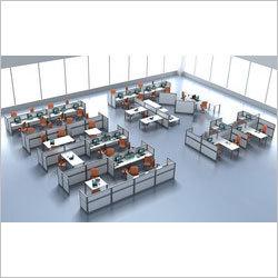 Aluminium Partition Workstation