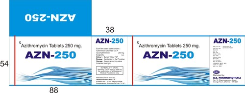 AZN 250 Tablets