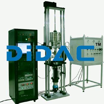 Computerized Slow Strain Rate Corrosion Testing Machine With Precision Load Sensors