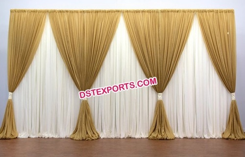 Wedding Stage Party Backdrop Decoration