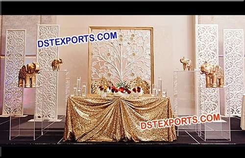 Indian Wedding Flower Decoration Frames