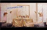 Indian Wedding Flower Decoration Frames