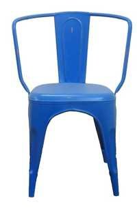 Metal Chair blue Classic