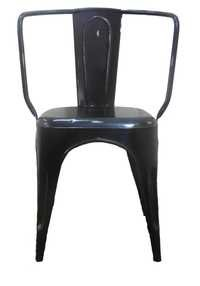 Iron Black  Chair