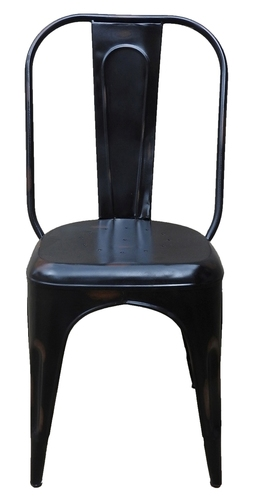 Solid Black Outdoor Chair