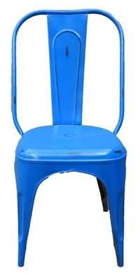 Iron Blue Chair