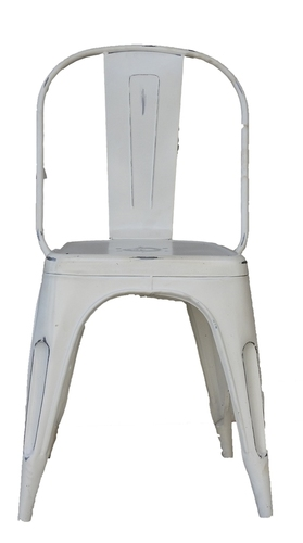 Metal Grey Chair