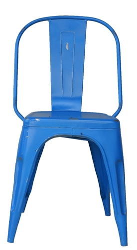 Blue Iron Chair
