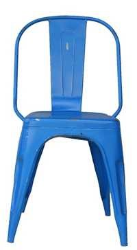 Blue Iron Chair