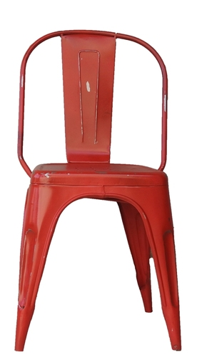 Red Iron Chair